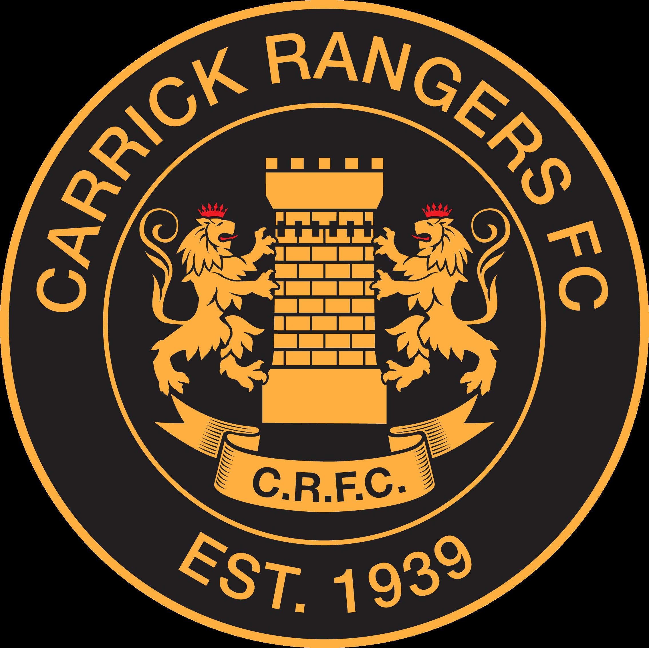 Carrick Rangers F.C Northern Ireland FOOTBALL. pins