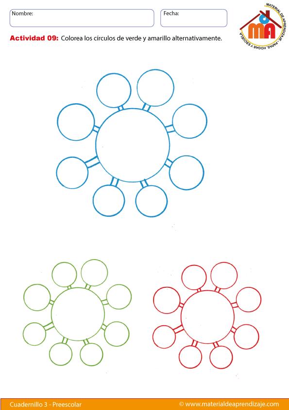 Hoja imprimible sobre las formas geométricas - el círculo de ...