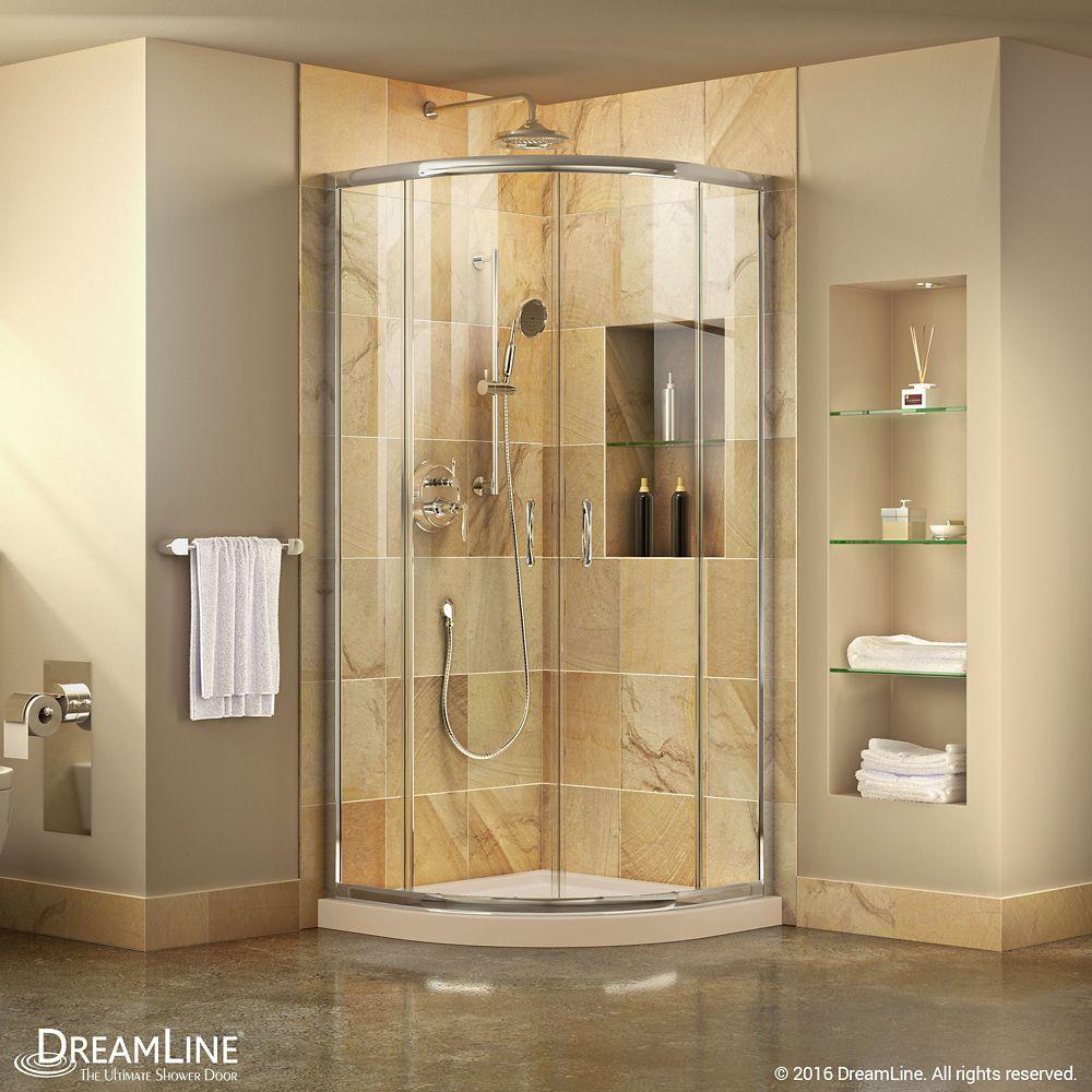 Prime 34 3 8 Inch X 72 Inch Frameless Sliding Shower Enclosure In