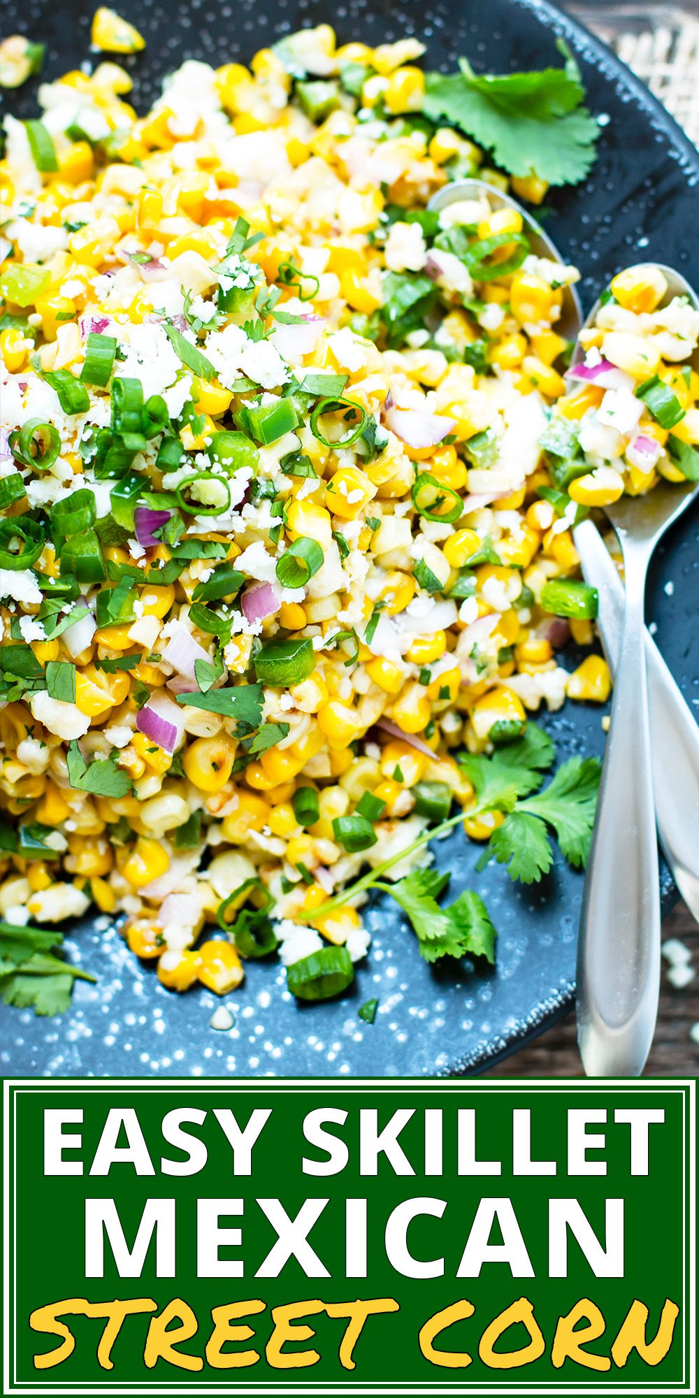 Easy Mexican Street Corn Salad
