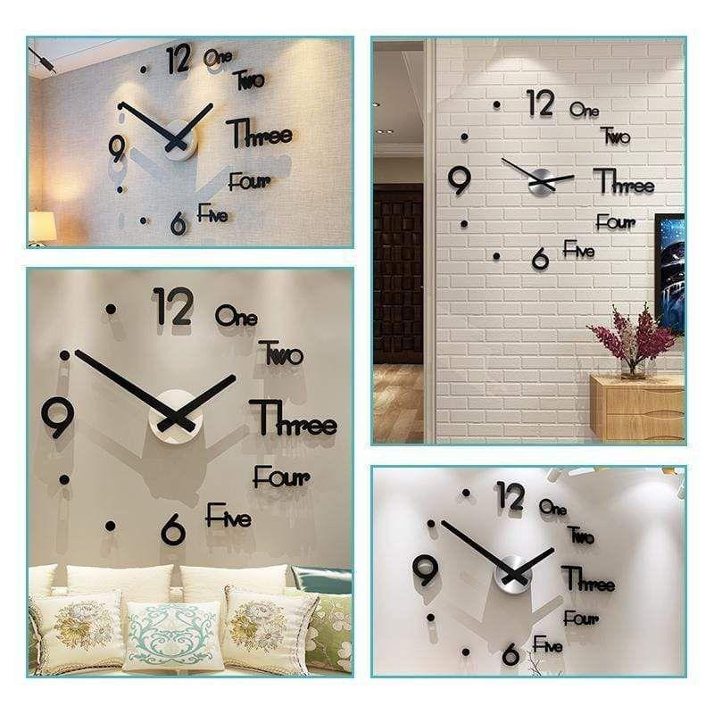 Photo of Modern Minimalist DIY Punch-free wall Clock