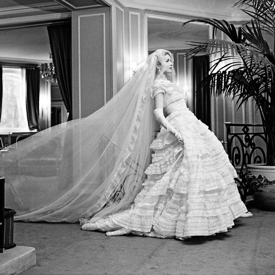 Robe de mariee dior 1950