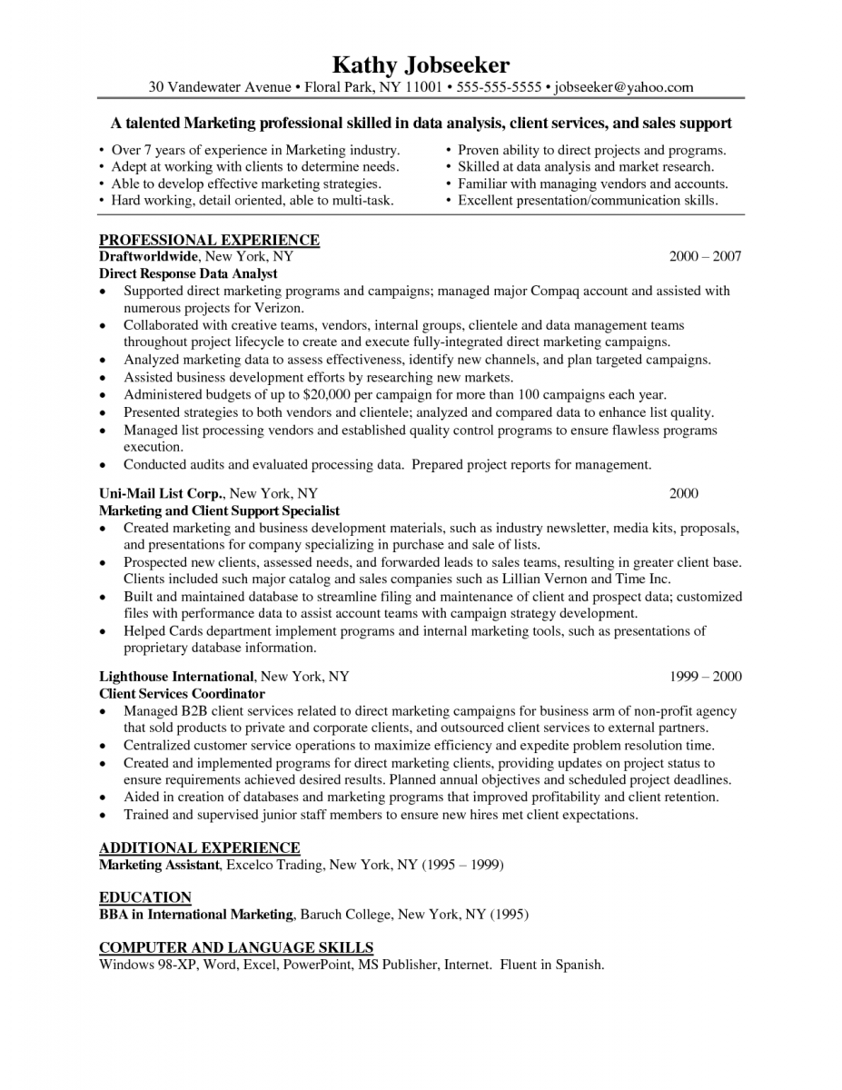 Research Analyst Job Description. Maintenance Mechanic Cover Letter ...
