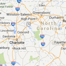 Richmond, VA to Charleston, SC - Google Maps | Pack a bag, going on ...
