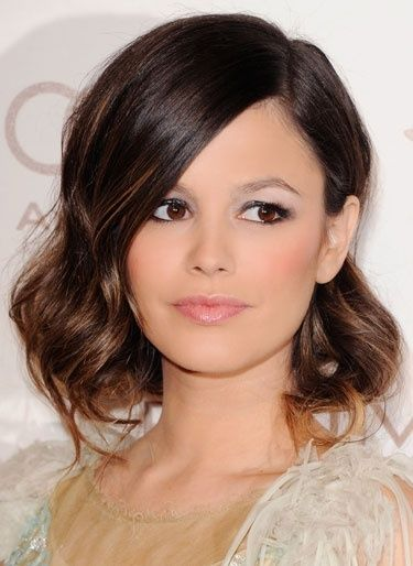Test a short hair look in the style of Rachel Bilsons pinned bob #RachelBilson #hair #bob #ombre #celebrityhair