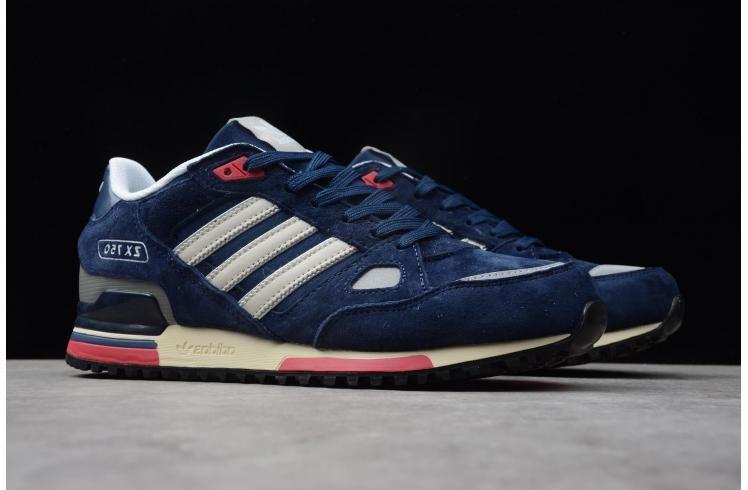 Adidas Originals Zx 750 Navy Blue/white