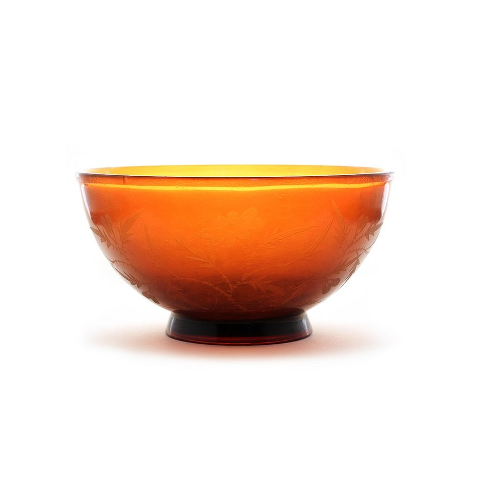 Beijing glass bowl, Jiaqing M&P