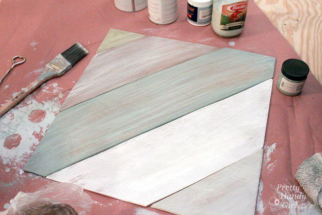 The Painted Distressed Wood Panel Tutorial Pretty Handy