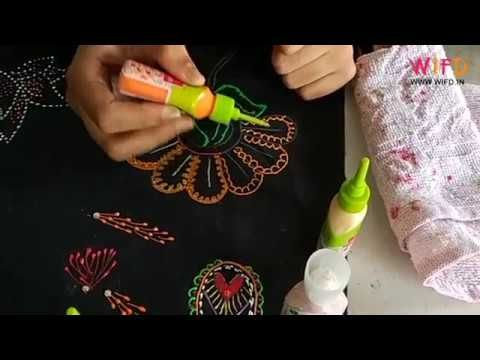 Creative Designing With Liquid Embroidery Waves Fashion Institute