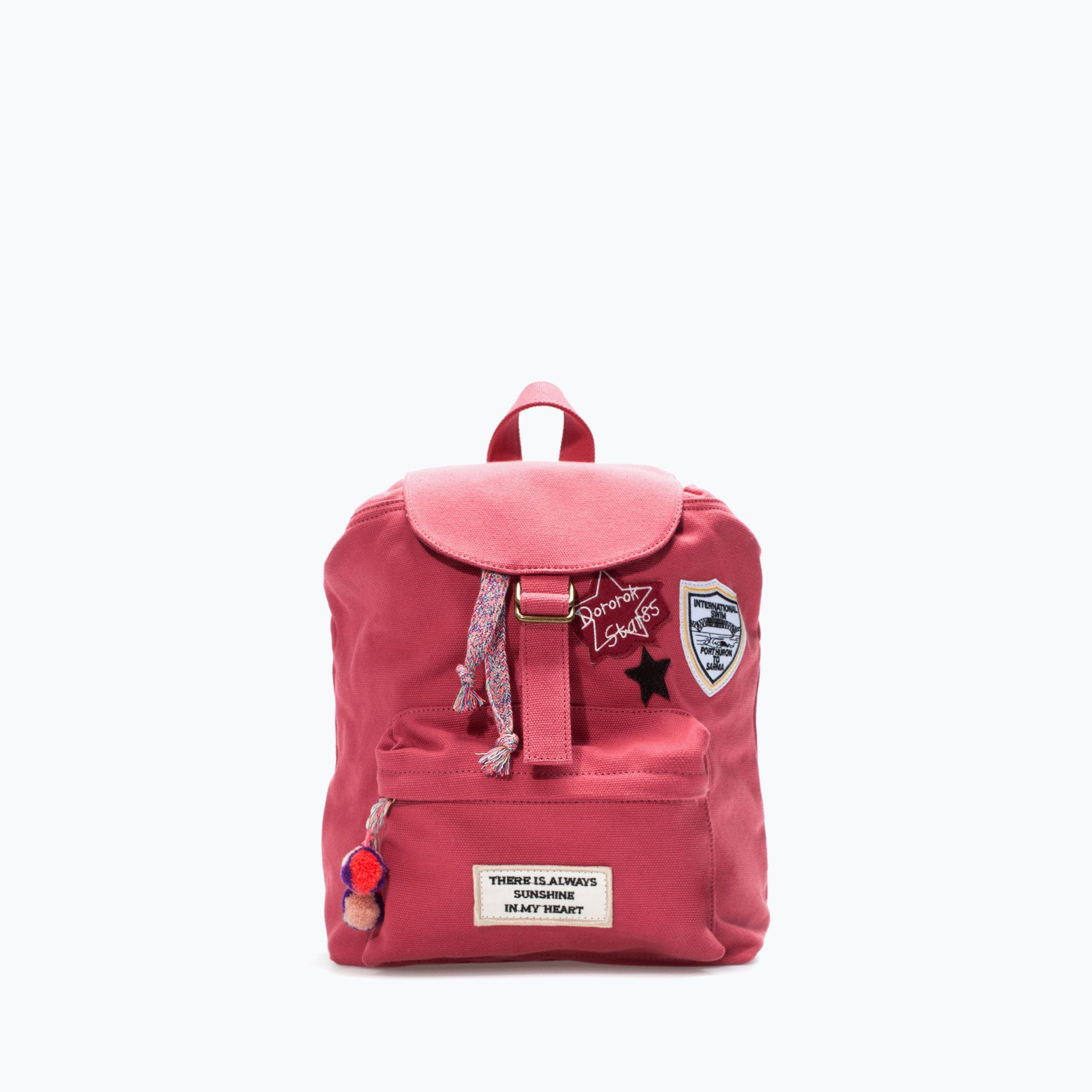 Image 1 of PATCHED BACKPACK from Zara