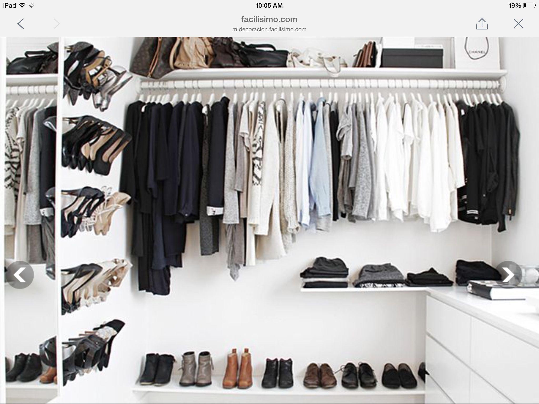 Para mi closet closets pinterest closet designs dressing room