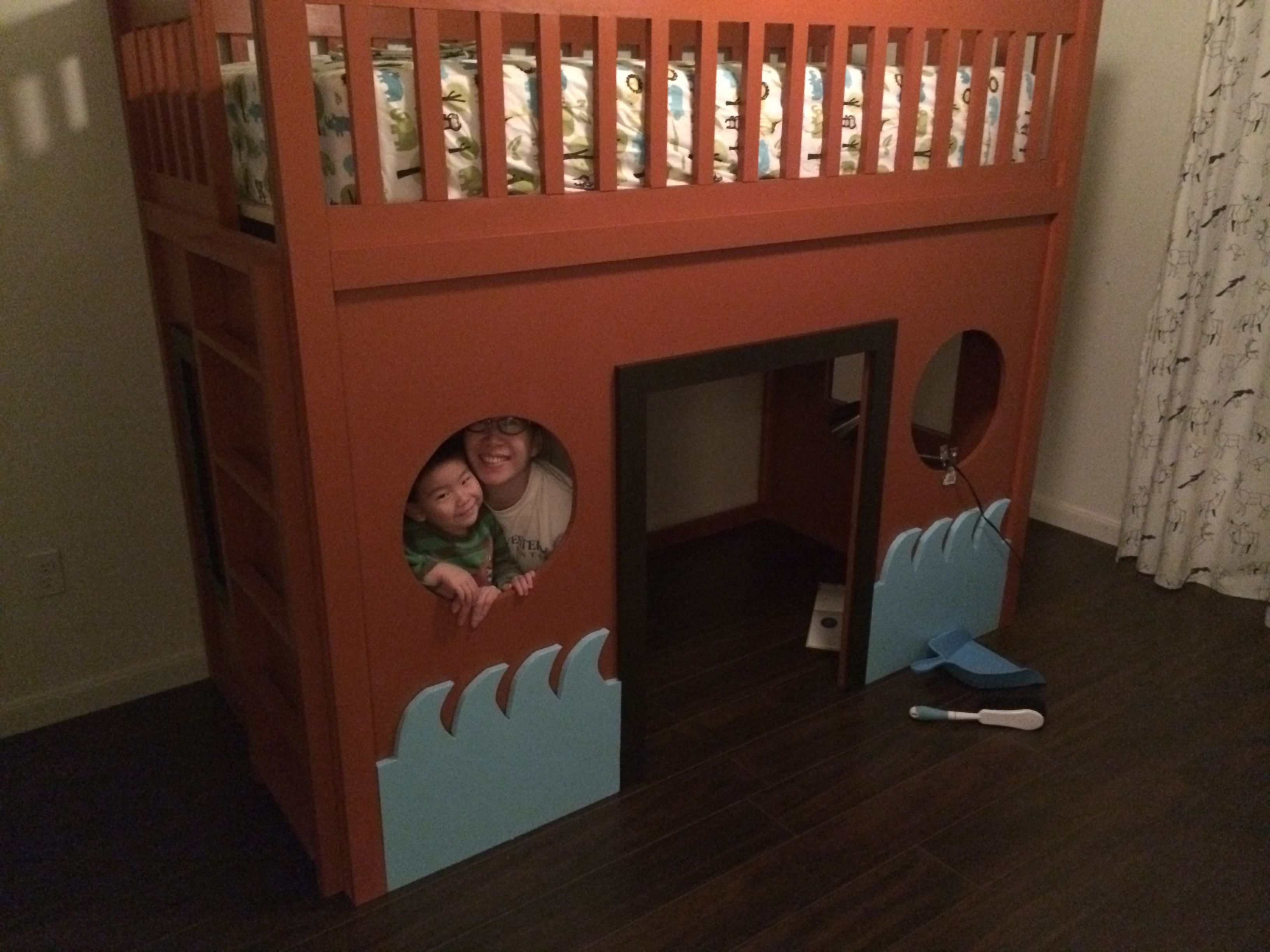 Ana White - Pirate Ship Loft Bed  Diy Projects
