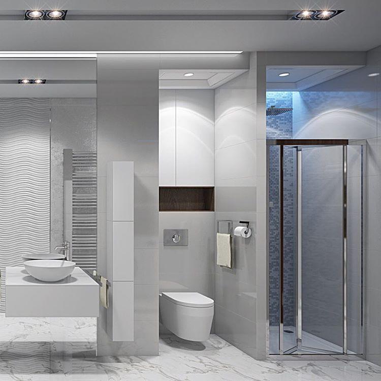 """654 Likes, 17 Comments - ДИЗАЙН ИНТЕРЬЕРА ДИЗАЙНЕР (@tarakanovadesign) on Instagram: """"Бодрое воскресное утро и прекрасный воскресный день лучше начинать в красивой ванной 😉💦 водные…"""""""