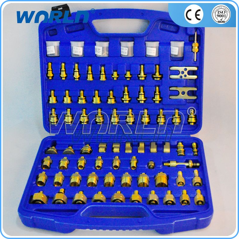evaporator condenser compressor leak fitting repair tool
