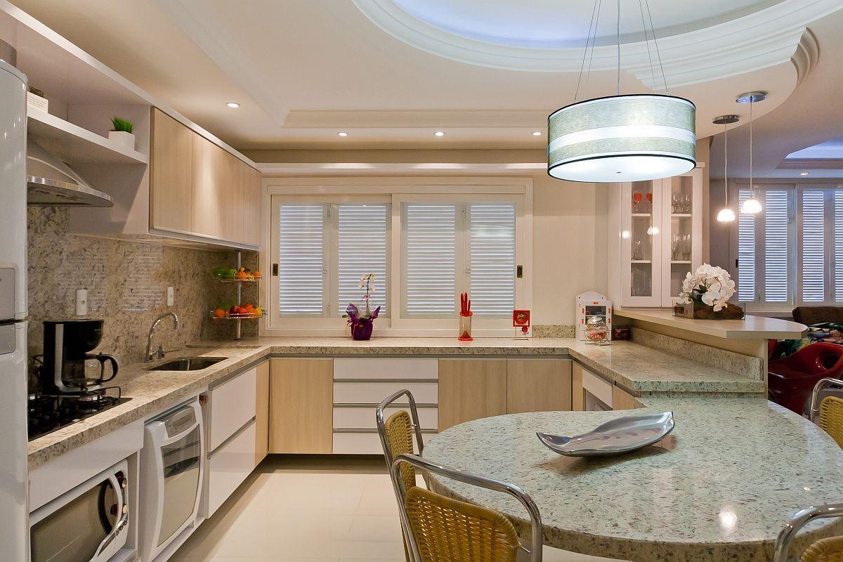 Cozinha Ampla clara e espaçosa cocinas Pinterest