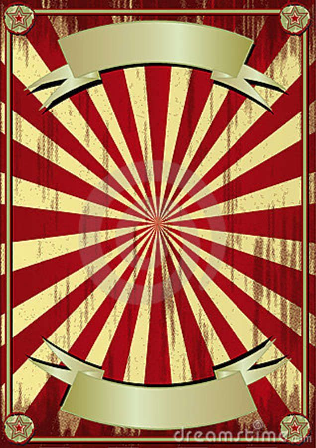 Vintage Circus Poster Background grunge-circus-backgrou...