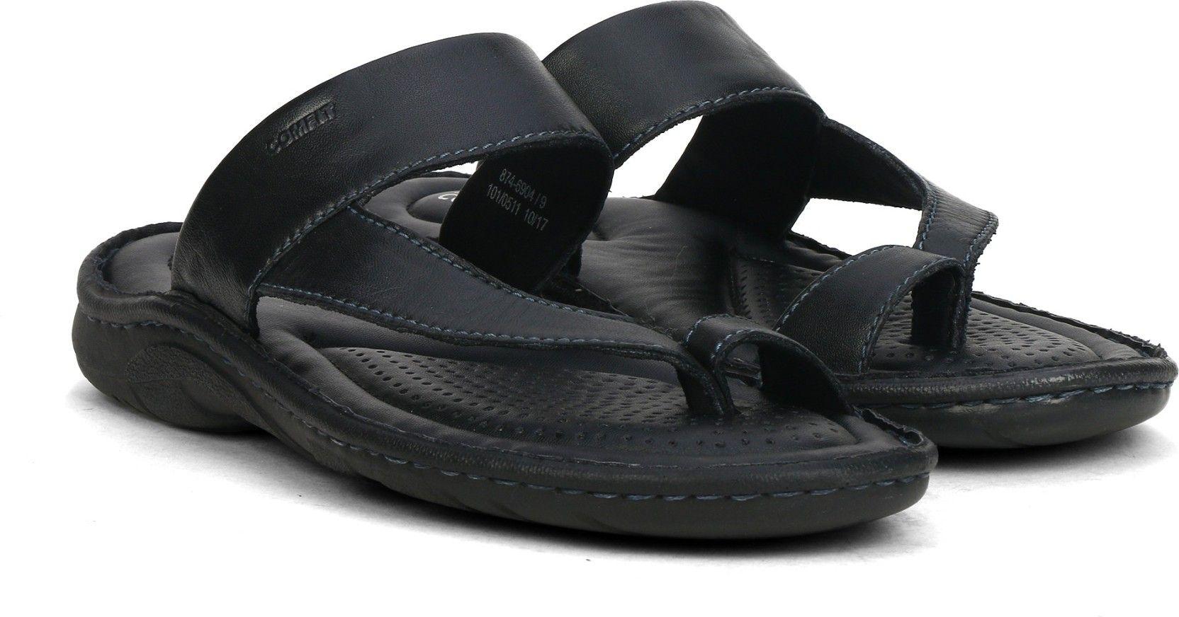 2b276253a336 Bata Men Black Sandals - Buy Black Color Bata Men Black Sandals Online at Best  Price - Shop Online for Footwears in India