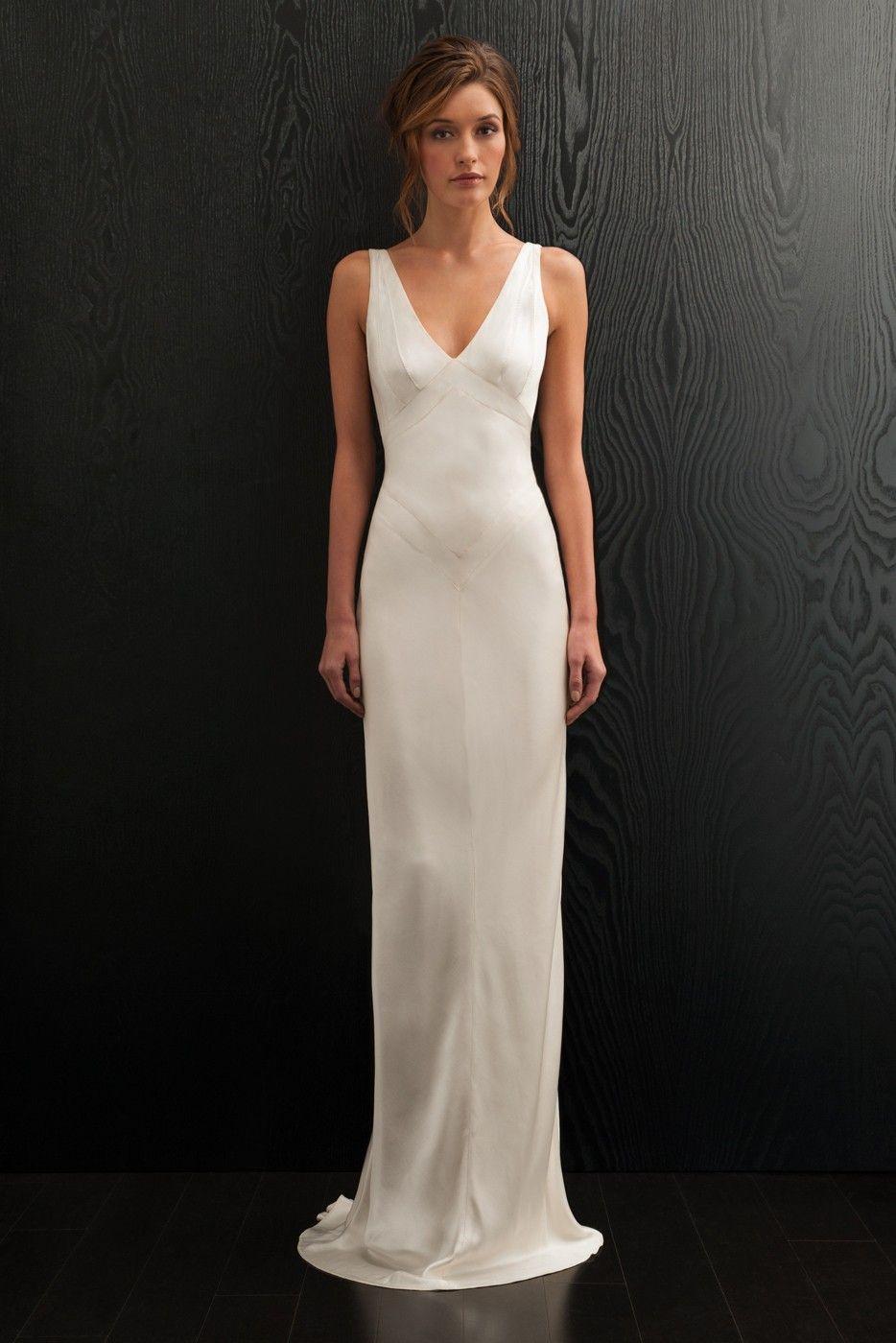 Adette Wedding Dress Amanda Wakeley Elegant Wedding Dress