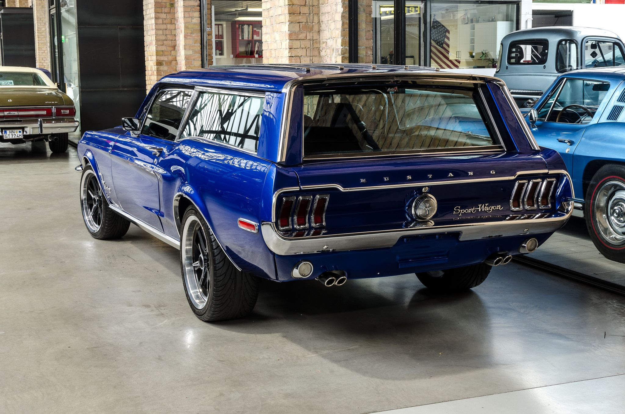 Ford Mustang Sports Wagon one off conversion Station Wagon