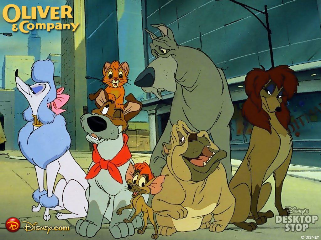 17 best images about oliver company 1988 disney oliver and company 1988