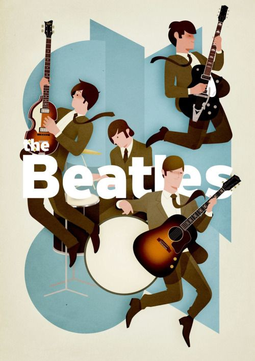 The Beatles  (by Andrew Lyons)   (adsbygoogle =...