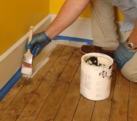 how to paint wood floors for dummies home pinterest. Black Bedroom Furniture Sets. Home Design Ideas