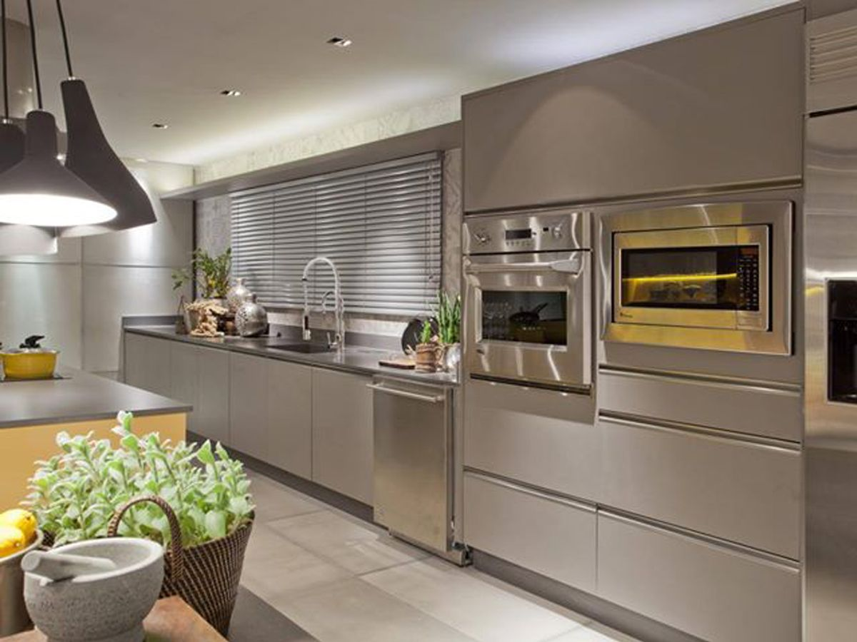 Cozinha Da Casa Cor Bras Lia 2012 Planejada Pelo Arquiteto Arnaldo