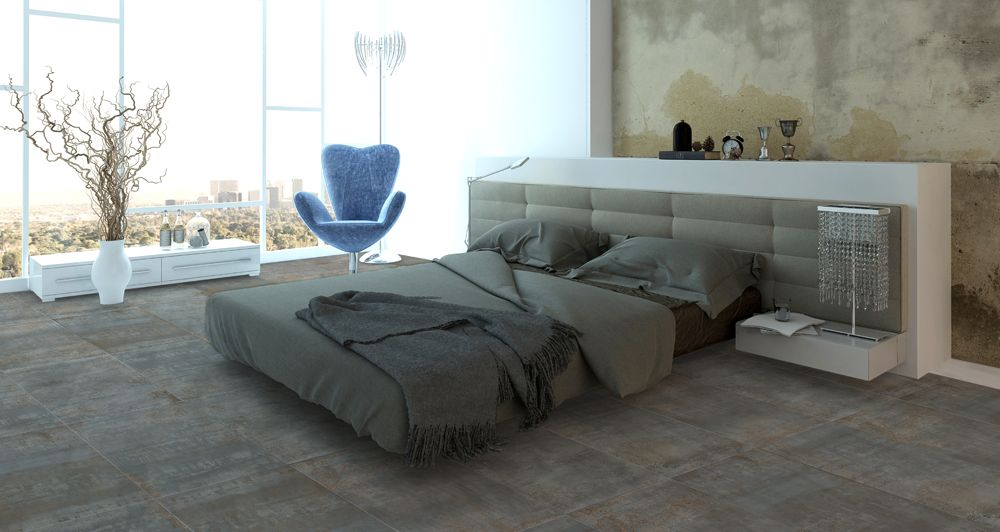 Take your bedroom to the next level with Rust Oxide Lappato 60x120cm