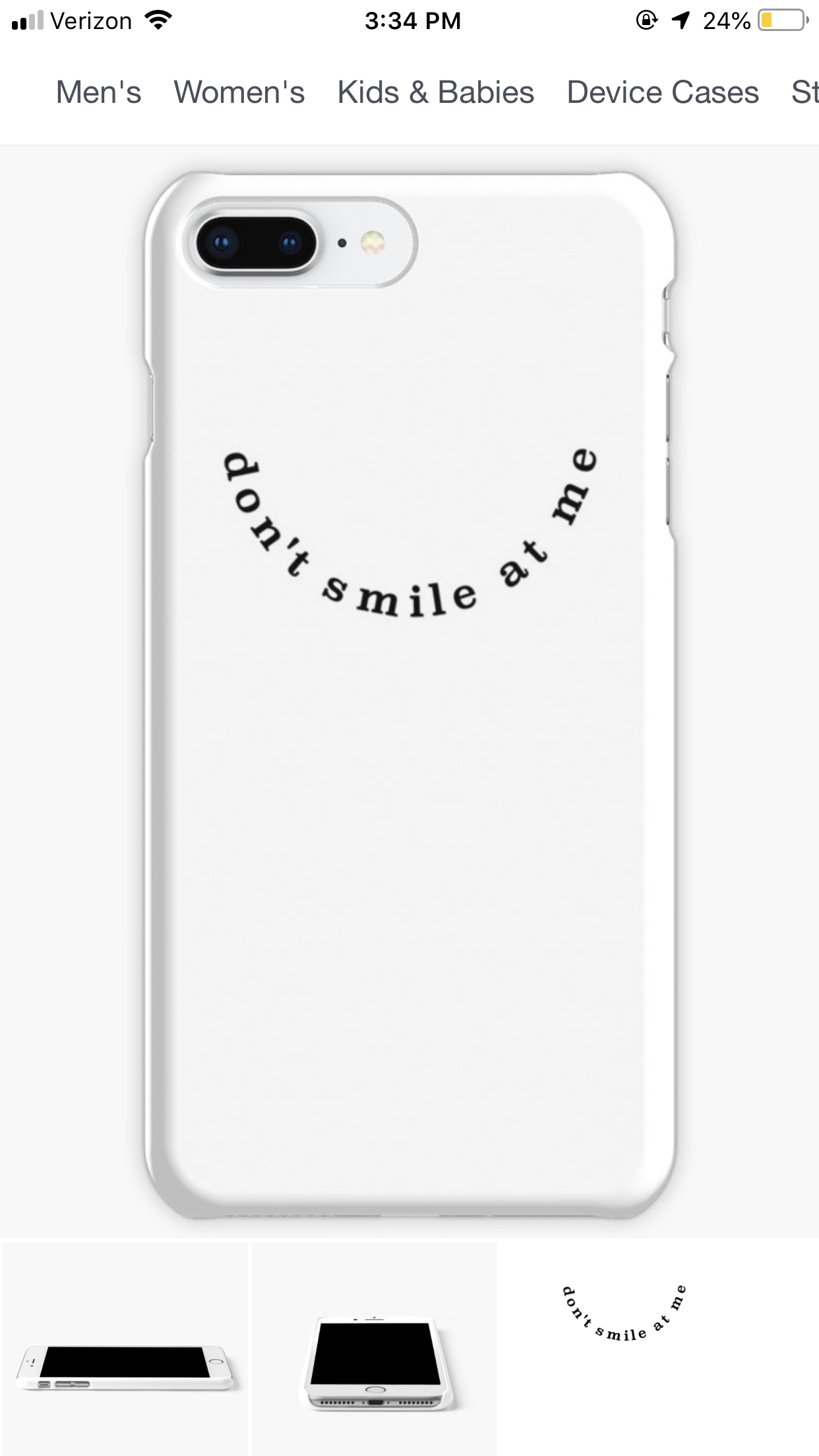 new product e4fc2 f6d48 iPhone 8+ case. Billie eilish redbubble | clothes in 2019 | Iphone ...