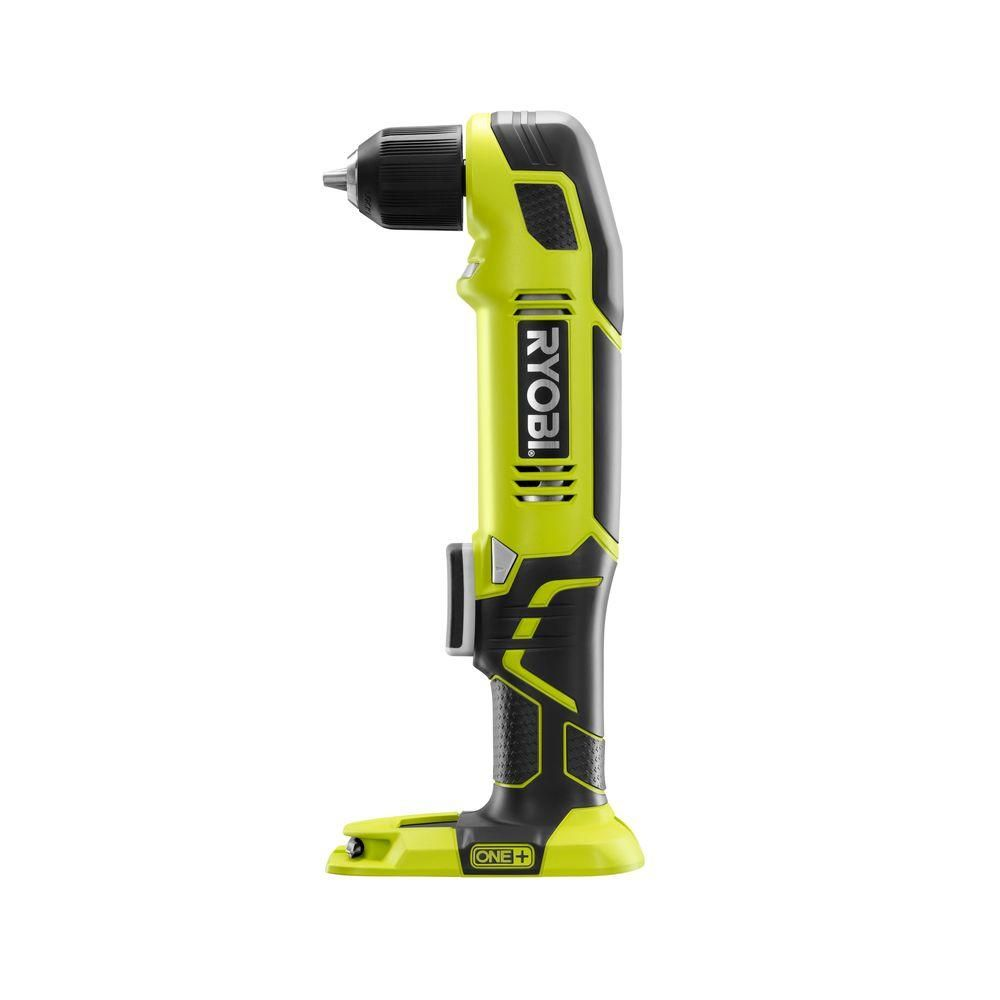 Ryobi ONE+ 18-Volt 3/8 in. Right Angle Drill (Tool-Only)-P241 - The Home Depot