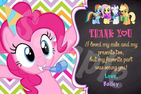 My Little Pony Invitation PP01 por Denleys en Etsy