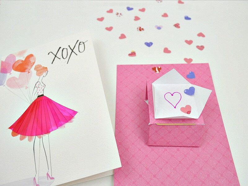 Confetti Flinger Card Insert Organized 31 Card Embellishments Confetti Cards Swing Card