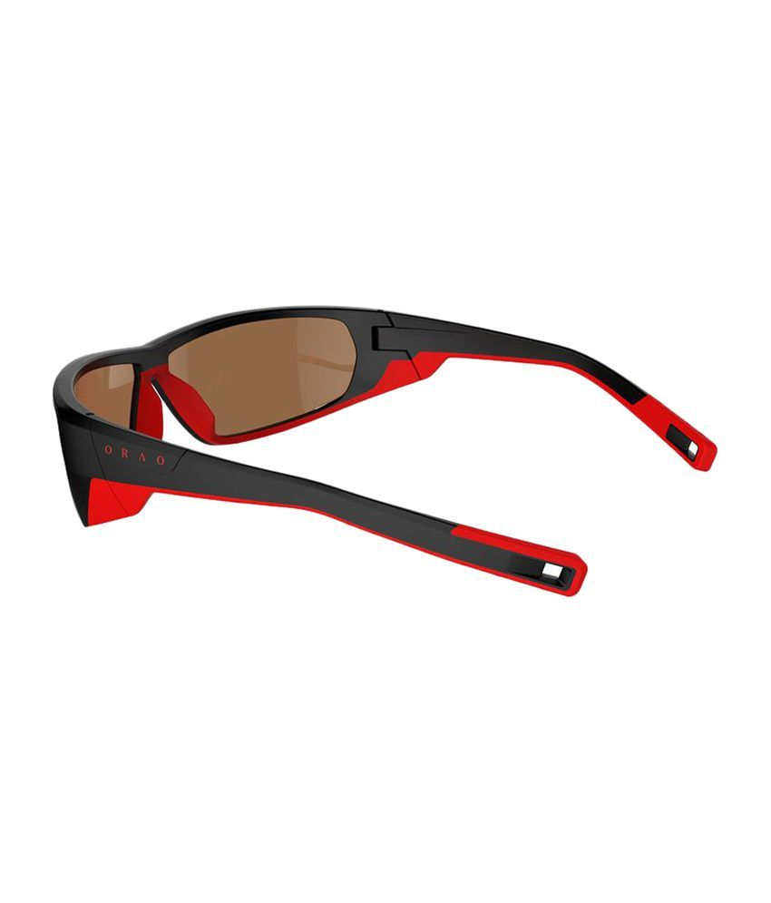 cf70f9eb6fdf ORAO Iwate Blackred Polarized Cat4 Hiking Sunglasses By Decathlon  Buy  Online at Best Price on