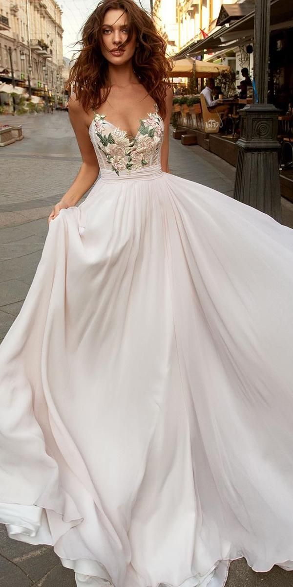 Photo of 36 Pretty Floral Wedding Dresses For Brides | Wedding Forward