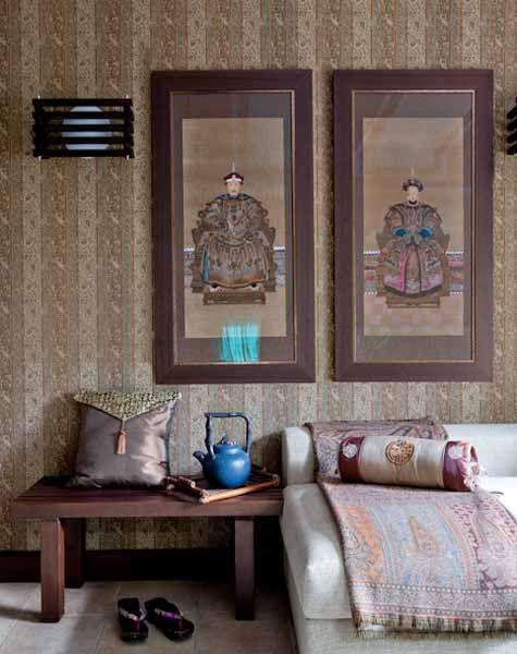 die besten 25 schlafzimmer in asiatischem stil ideen auf. Black Bedroom Furniture Sets. Home Design Ideas
