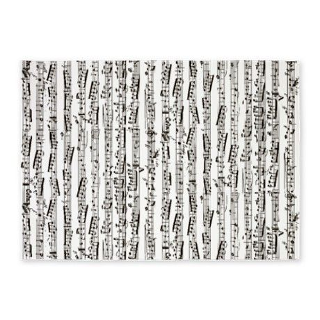 Music Notes 5 X7 Area Rug I Want This For Our Themed