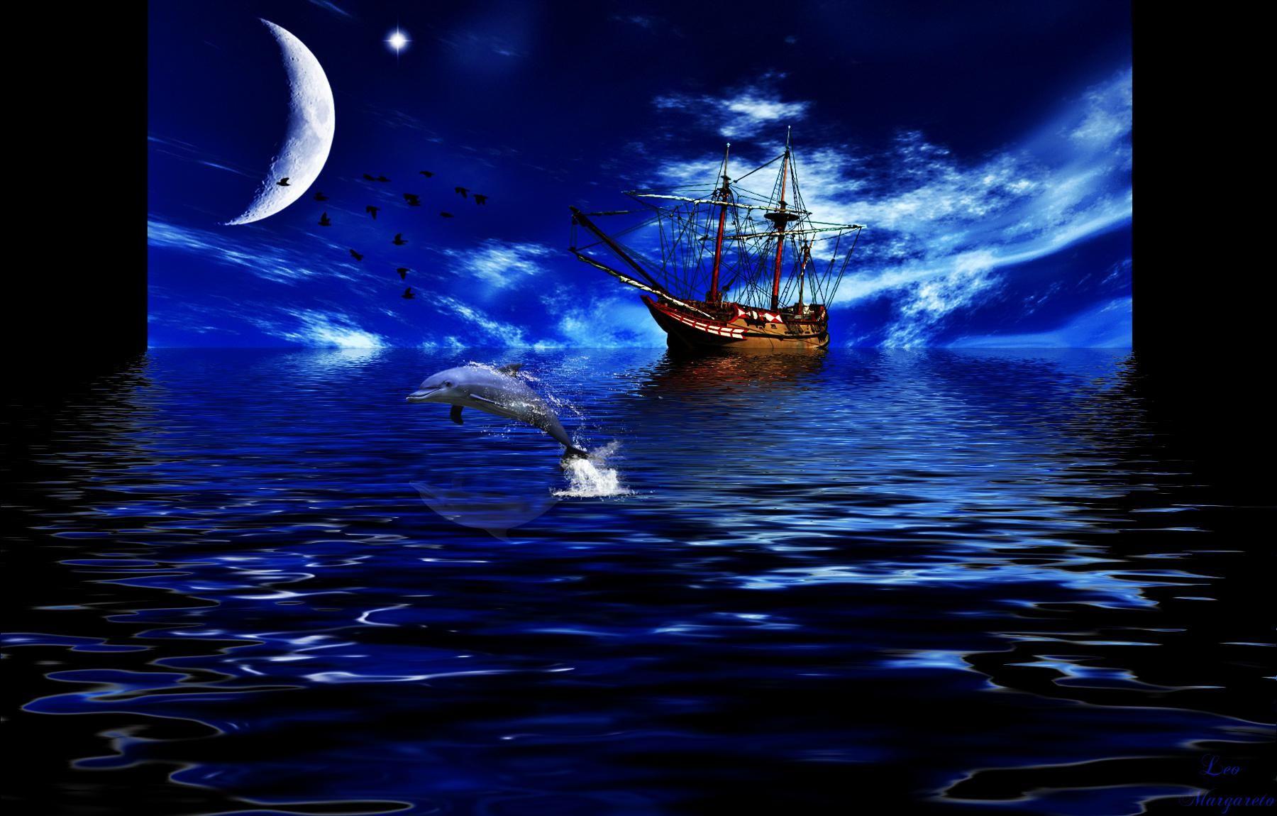 columbus ship sailing at night columbus day pinterest