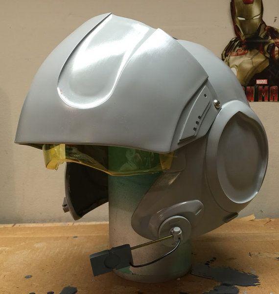 Prepped Kit - Fan Made TFA X-Wing Pilot Helmet Casting