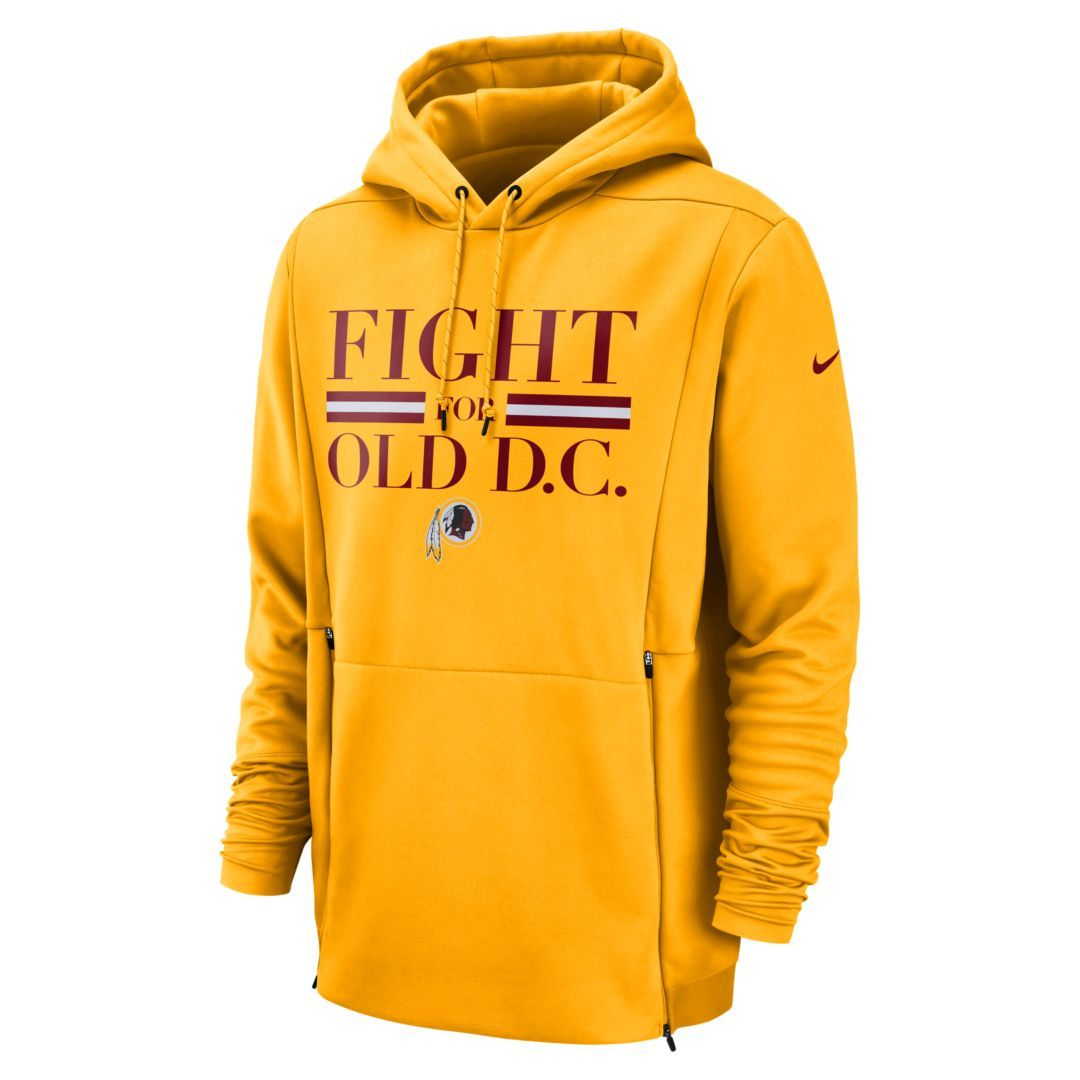 edcc086c Nike Therma (NFL Redskins) Men's Hoodie Size 3XL (University Gold ...