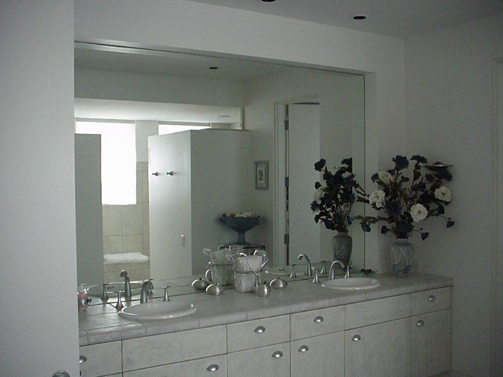 Large Frameless Bathroom Mirrors Decor Ideas Bathroom Mirror Mirror Mirror Decor