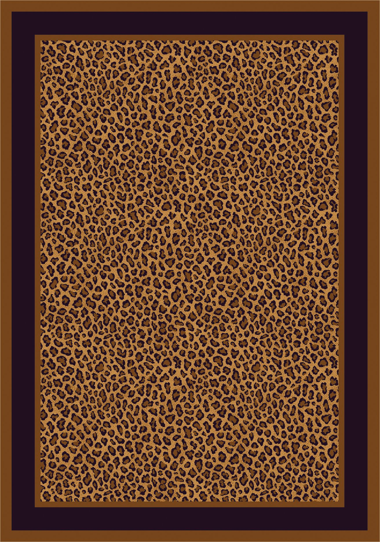 Zimbala Leopard Bordered. For the animal enthusiast, this is your rug! Use this to add sophistication to any room of your home. http://bit.ly/1lwnBqg