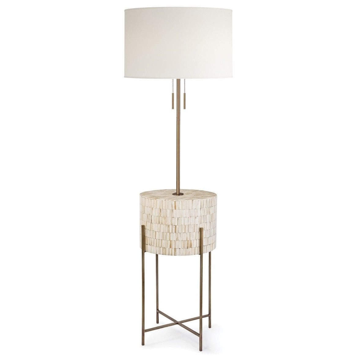Regina andrew design resse floor lamp natural brass new lighting whats new candelabra inc
