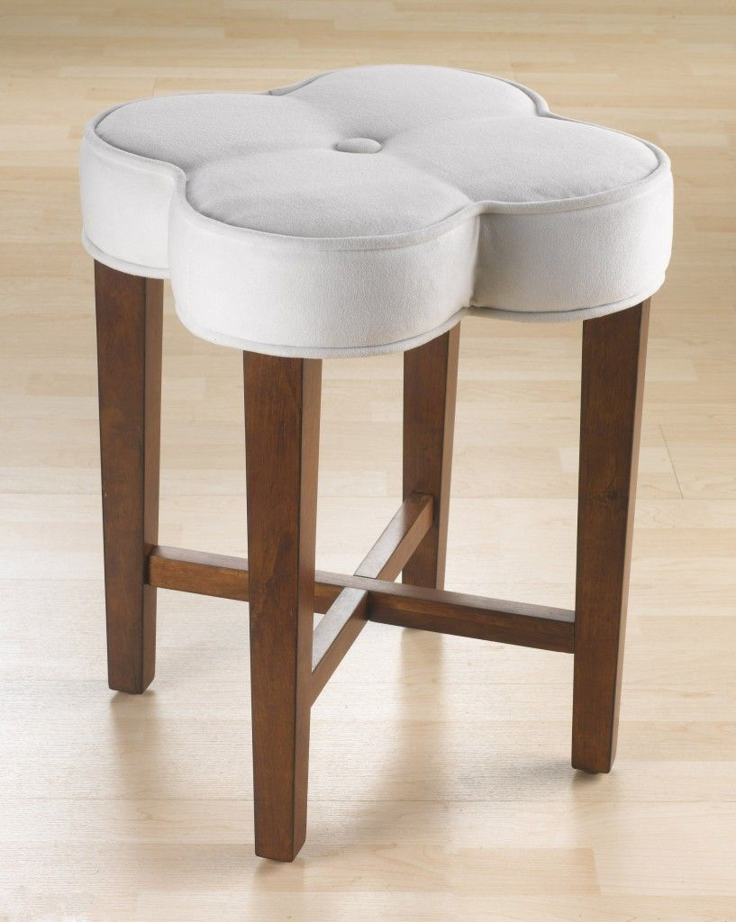 Contemporary Vanity Stool For Bathroom Vanity Bench Slip Covers For Bathroom Makeup Chair Vanity Stools And Chairs V Vanity Stool Stool Hillsdale Furniture