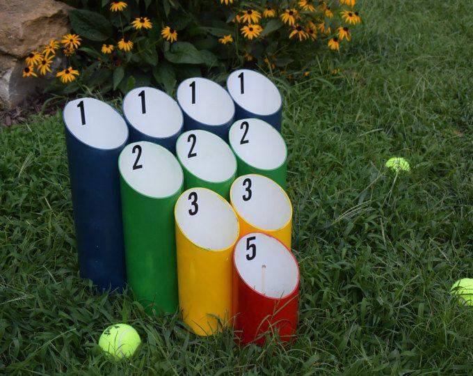 Jeu de pelouse balle tuyau skee ball game jeux de mariage r ception jeux cadeau de - Cadeau de cremaillere ...