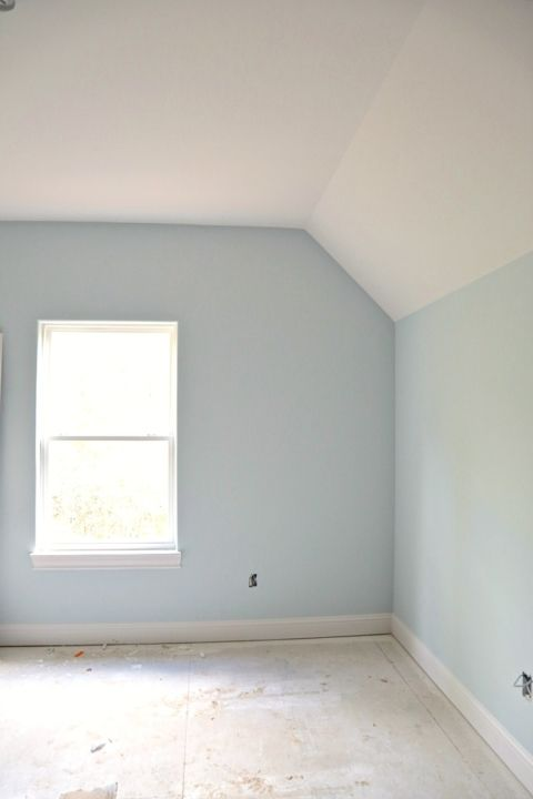 Wall Color Is Benjamin Moore Pale Smoke