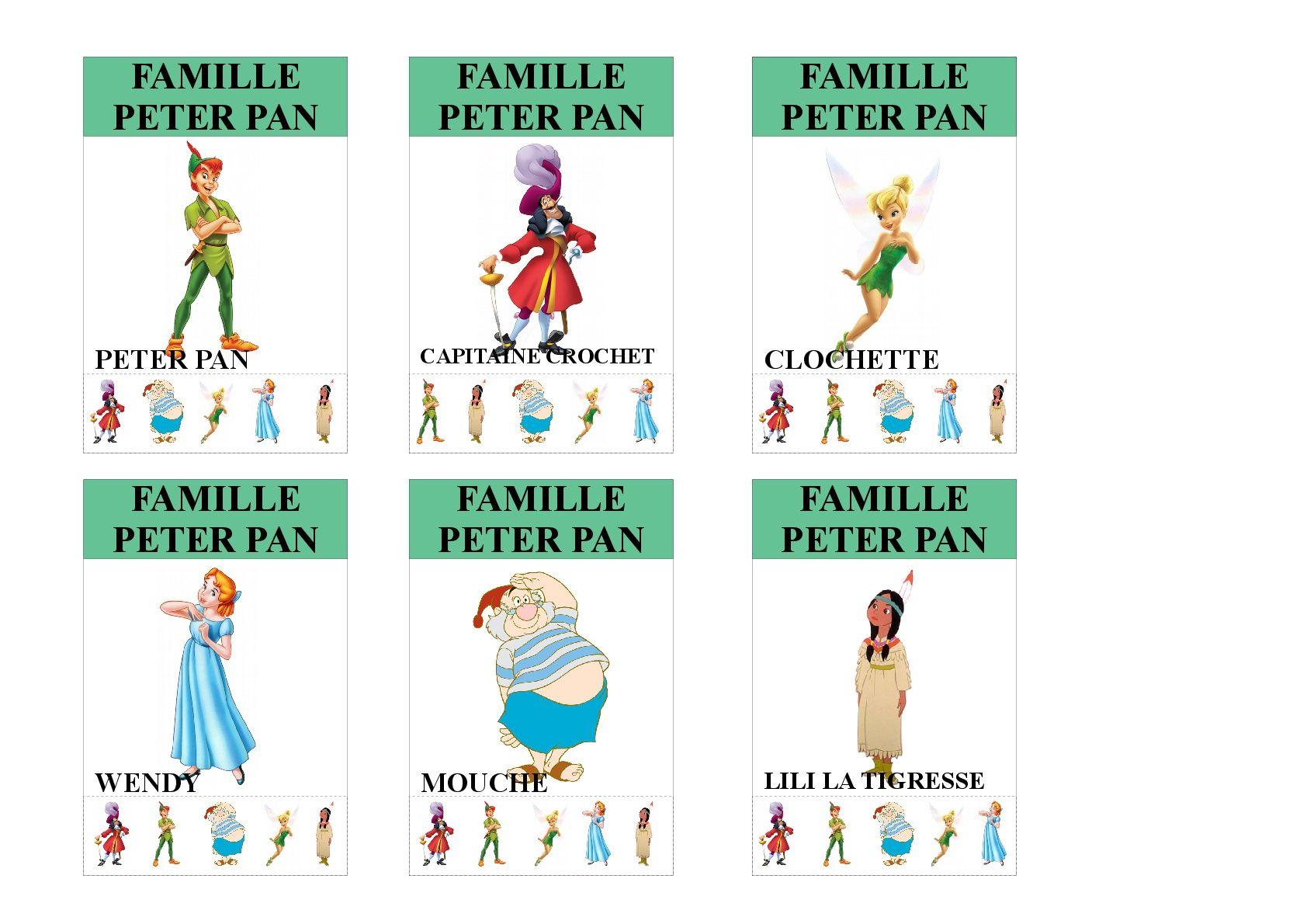 Epingle Par Graziella Raepsaet Sur Jeux Des 7 Familles Jeux Des 7 Familles Famille Disney Idee De Jeux
