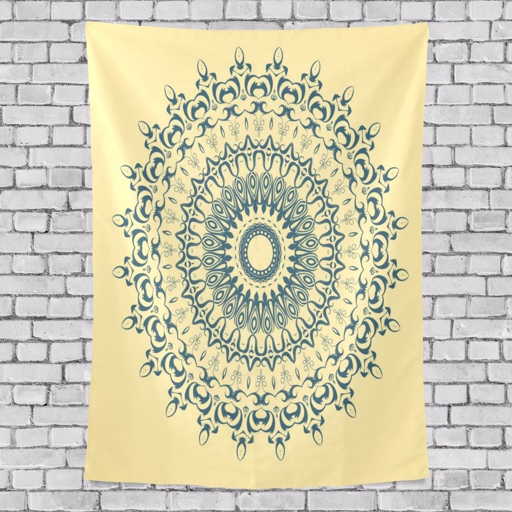 2017 Mandala Tapestry Wall Hanging Indiase Bohemian Rectangle ...
