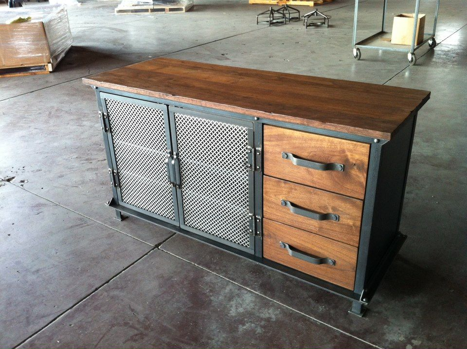 ellis console by greg hankerson of vintage industrial furniture bastl wastl pinterest. Black Bedroom Furniture Sets. Home Design Ideas