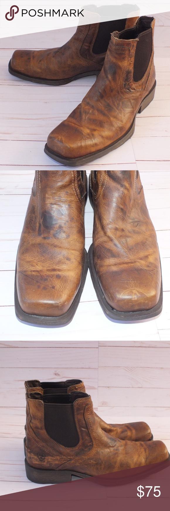 ae9e33adc9e Ariat Men's Midtown Rambler Boots Sz 12 D Brown Ariat Men's Midtown ...
