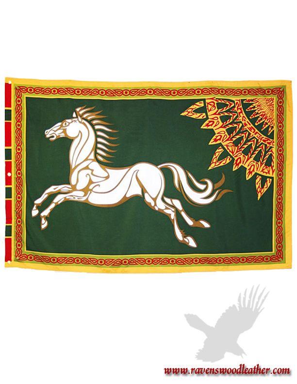 Flag Lotr Rohan Tolkien Dibujos Hobbit